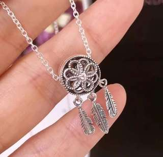 Pandora Spiritual Dreamcatcher Charm Necklace