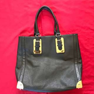 Aldo black shoulder bag