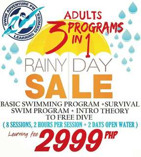 Swimming Lessons in QC and Parañaque