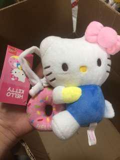Hello Kitty 公仔吊飾 有鈴鐺可掛bb車 12cm