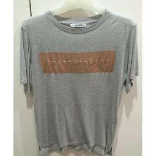 Grey Caption T-Shirt
