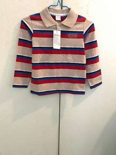 Boys Stripes Longsleeve Shirt