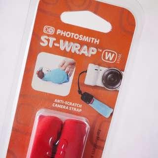 🚚 ALIFE紅色相機收納吊帶包手腕式保護收納袋
