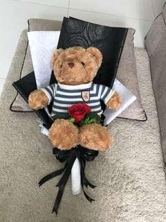 Teddy bear bouquet (big)