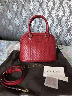GUCCI Mini Dome Bag with strap
