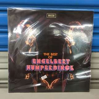 "The best of Engelbert Humperdinck 12"" LP"