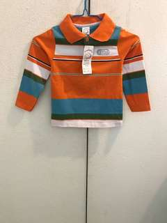 Boys Stripes Longsleeve Shirt