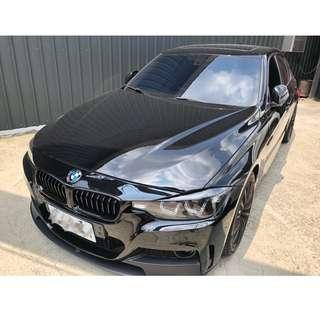 12年 BMW 328I 黑色 超帥的 阿銘專營台灣優質認證中古車 二手車
