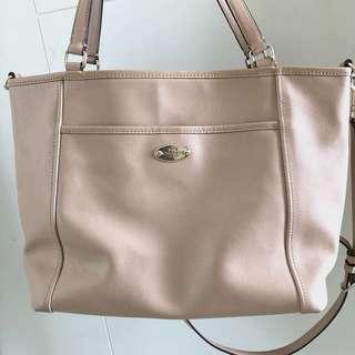 Coach Tote Bag Full Leather Original