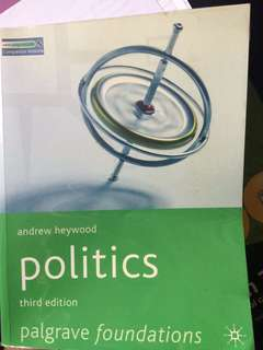 Politics third edition Andrew heywood