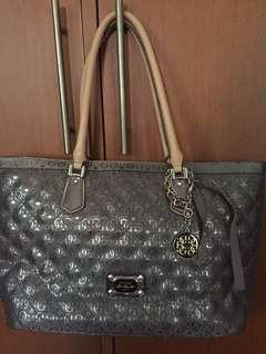 Guess Shopper Bag Silver
