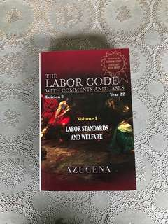The Labor Code - Volume I