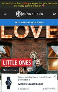Website drop shipping business