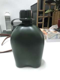 Military army water bottle