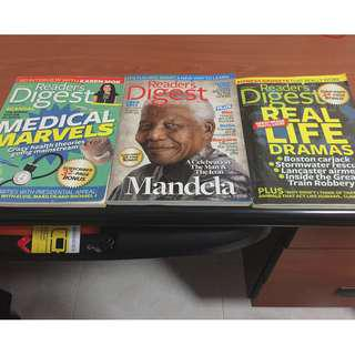 Readers Digest(2013 / 3 monthly issues)