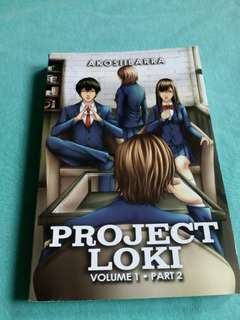 Project Loki Vol1 Part2 by akosiibarra of wattpad