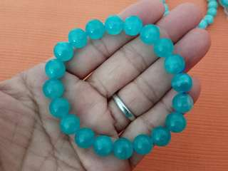 10mm Ice Amazonite Bracelet