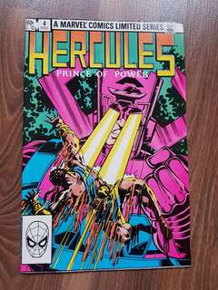 Vintage Marvel Comics Limited Series (Hercules)