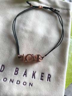 Ted Baker london Love Kiss Cord Bracelet
