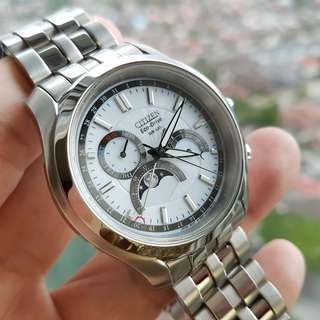 Citizen Eco-Drive Moonphase solar powered