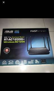 ASUS RT-AC1200G+ brand new unopened 3yrs warranty