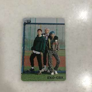 EXO - CBX Photocard