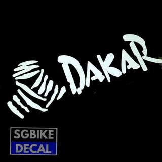 Dakar Reflective Decal