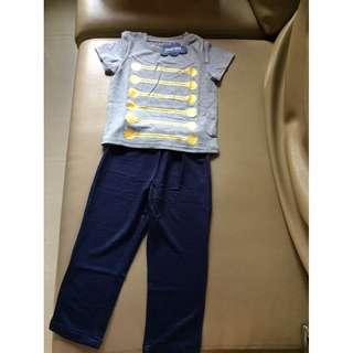 Tshirt and Legging Set for Boys