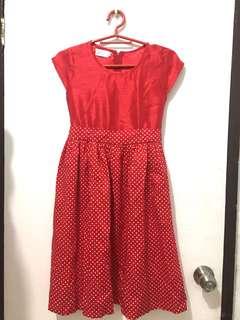 Red Kiddie Dress