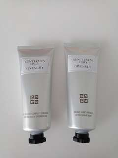 Givenchy Gentlemen Only After-save balm/Hair and Body Shower Gel