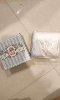 Bath Scrub, towel and glove exfoliator