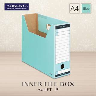 KOKUYO A4-LFT FILE BOX (WITHOUT LID) (5 Color Available)