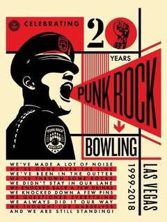 Obey giant Punk Rock Bowling 20th