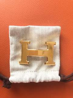 Hermes Belt & Buckle