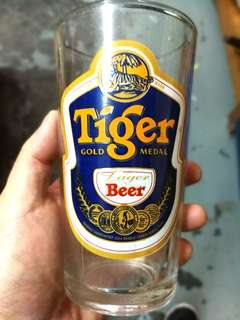 Tiger Glass Vintage Collectible clean like new