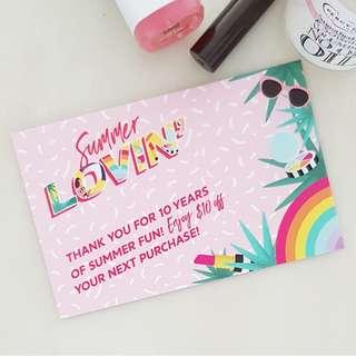 Sephora Gift Voucher Card
