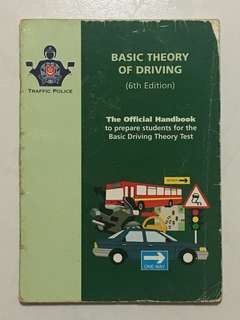 Basic Theory of Driving (BTT) Book (6th Edition)