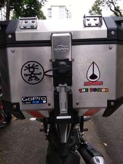 Kappa Box 42L with base plate.