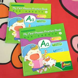 (ISI 2) MY FIRST PHONICS PRACTICE BOOK BUKU ABC ANAK IMPORT