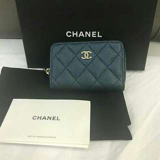 Bnew Chanel Card Holder Zip