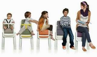 Nuna zaaz baby chair high chair