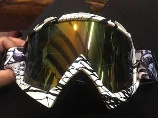 摩托車越野鏡面罩哈雷戰術護目鏡防風沙透氣戶外運動鏡