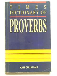 Times Dictionary of Proverbs