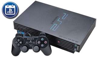 PlayStation 2 modded with 3 controller
