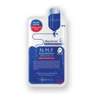 Mediheal N.M.F Aquaring Moisturizing Ampoule Mask EX