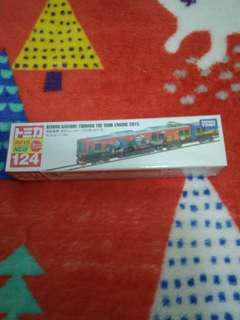全新 TOMICA 124 Keihan railway Thomas the tank engine 2015