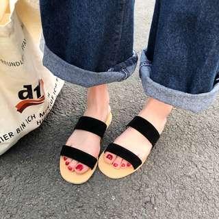Korea Style Women casual flat sandal