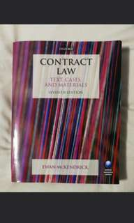 🚚 Contract Law Text Cases and Materials (7th Ed) by Ewan McKendrick