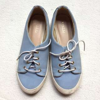 Vincci Shoes (Light Blue)