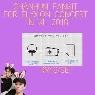 EXO CHANHUN FANKIT